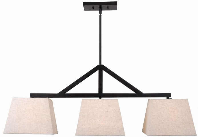 Intersect Oil Rubbed Bronze 3 Light Island Light