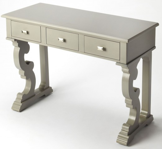 Caravaggio Gray Console Table