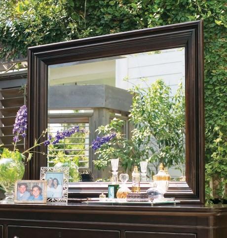 Paula Deen Home Tobacco Rectangular Landscape Mirror