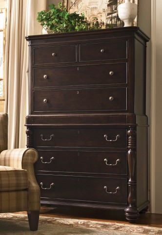 Paula Deen Home Tobacco 8 Drawer Tall Chest