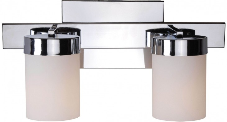 Eastlake Chrome 2 Light Vanity