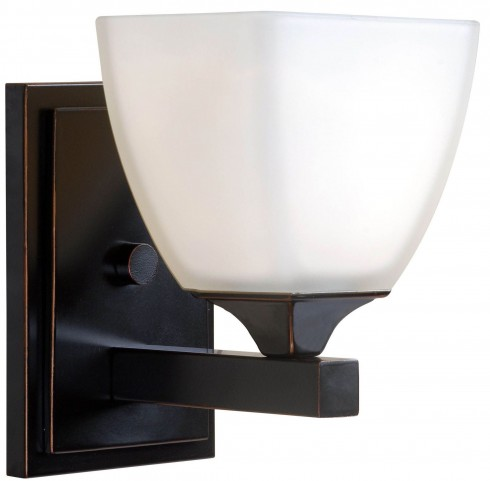 Helix Oil Rubbed Bronze 1 Light Sconce