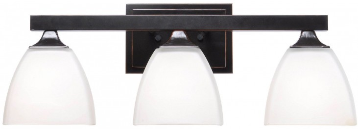 Helix Oil Rubbed Bronze 3 Light Vanity