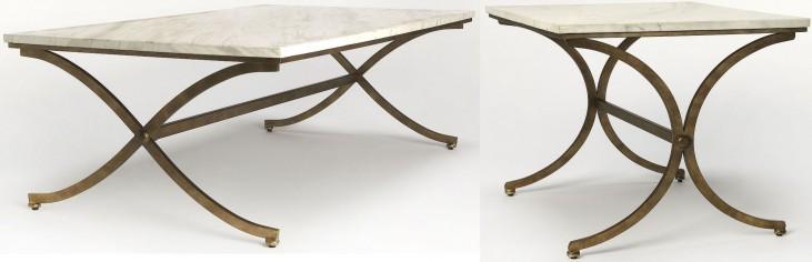 Pamina Travertine Ocassional Table Set