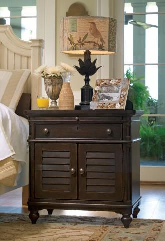Paula Deen Home Tobacco 1 Drawer Door Nightstand
