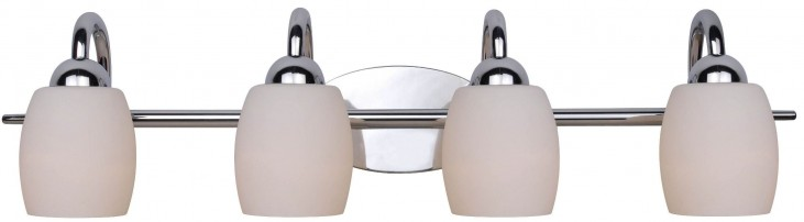 Amador Chrome 4 Light Vanity