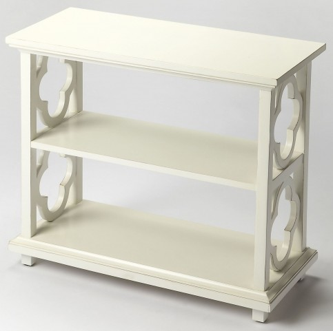 Paloma Cottage White Bookcase