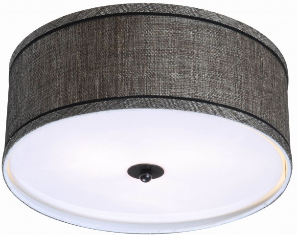 Margot Oil Rubbed Bronze 2 Light Flush Mount
