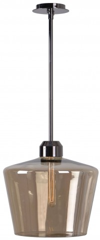 Abra Aged Metal 1 Light Pendant