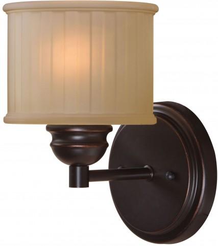 Barney Oil Rubbed Bronze 1 Light Sconce
