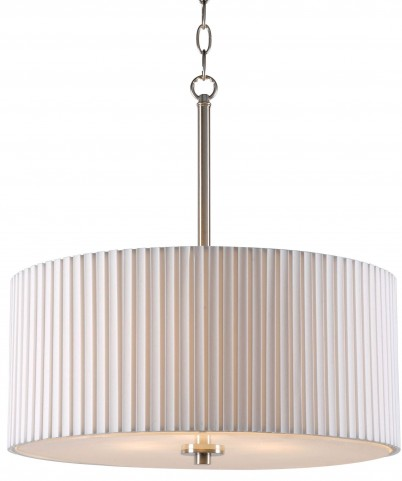 Grace Brushed Steel 3 Light Pendant