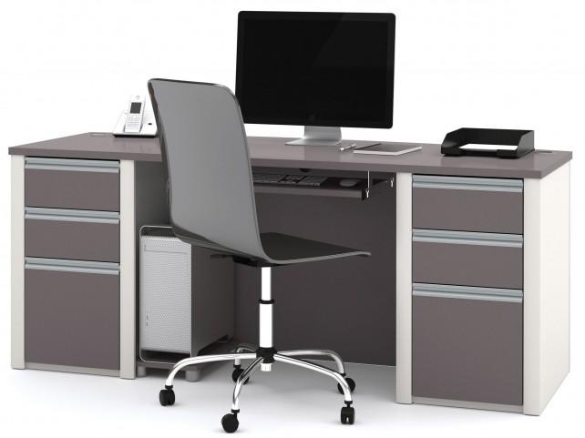 Connexion Slate & Sandstone Executive Desk Set