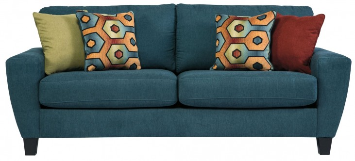 9390238 Sagen Teal Sofa