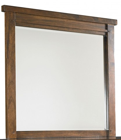 Cameron Youth Warm Tobacco Brown Mirror