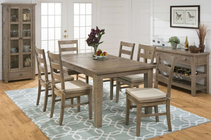 Slater Mill Extendable Rectangular Dining Room Set