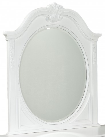 Jessica Clean White Mirror