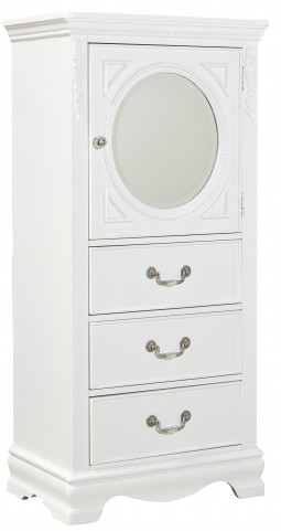 Jessica Clean White Lingerie Chest