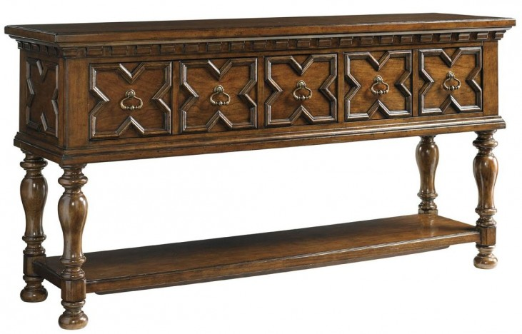 Coventry Hills Autumn Brown Mc Carty Sideboard