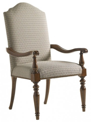 Coventry Hills Autumn Brown Chestnut Hills Upholstered Arm Chair