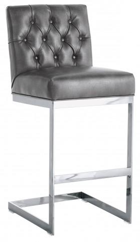 Cavalli Barstool In Grey Nobility