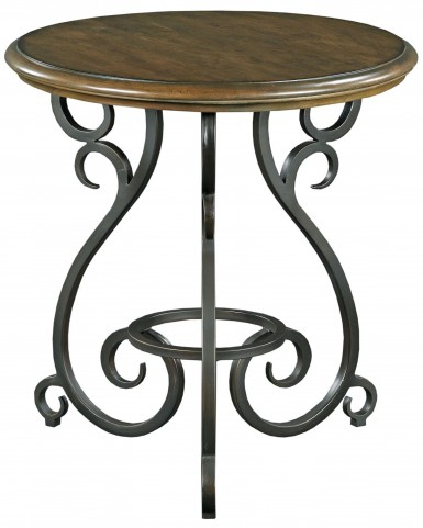 Portolone Truffle Accent Table