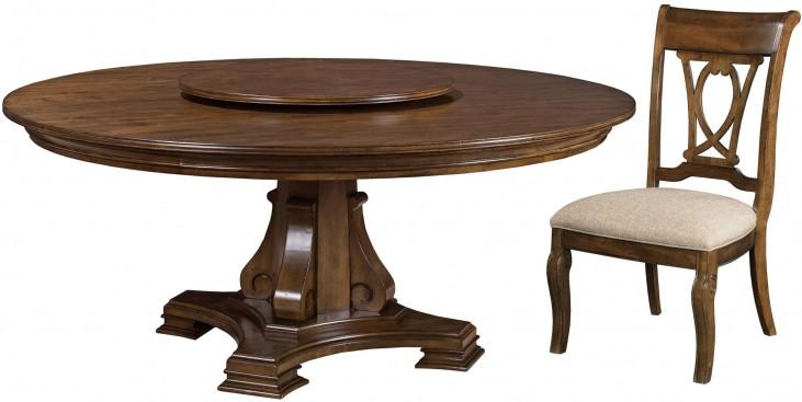 "Portolone 72"" Round Dining Room Set"