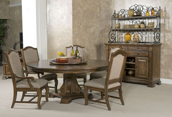 "Portolone 60"" Round Dining Room Set"