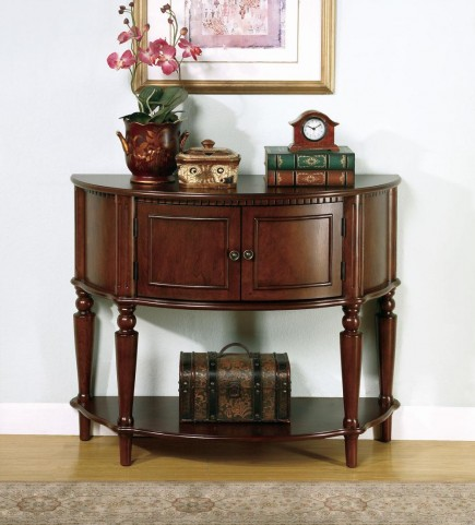 Brown Entry Table 950059