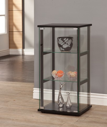 950179 Black Curio Cabinet