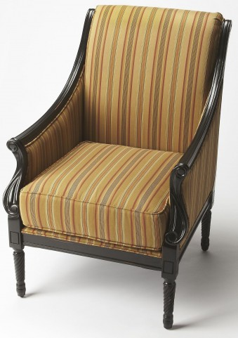 Wexford Black Licorice Accent Chair