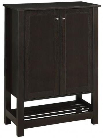 Cappuccino Door Shoe Cabinet
