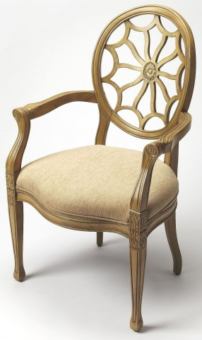 Allison Cappuccino Accent Chair