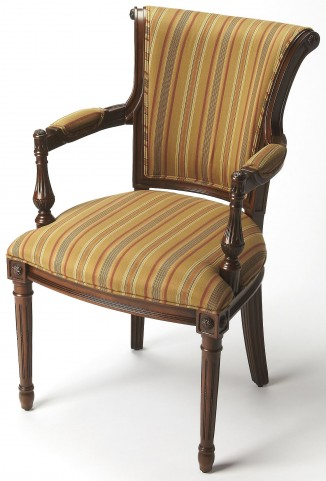 Carina Plantation Cherry Accent Chair