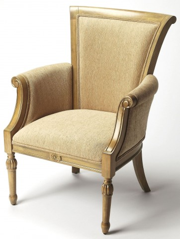 Chiara Cappuccino Accent Chair