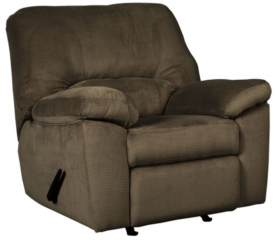 Dailey Chocolate Rocker Recliner