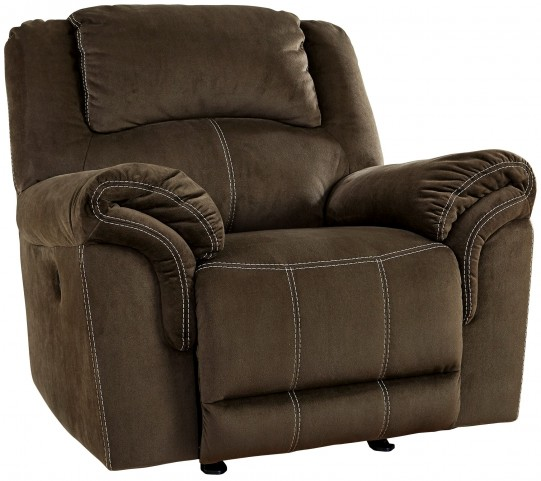 Quinnlyn Coffee Rocker Recliner