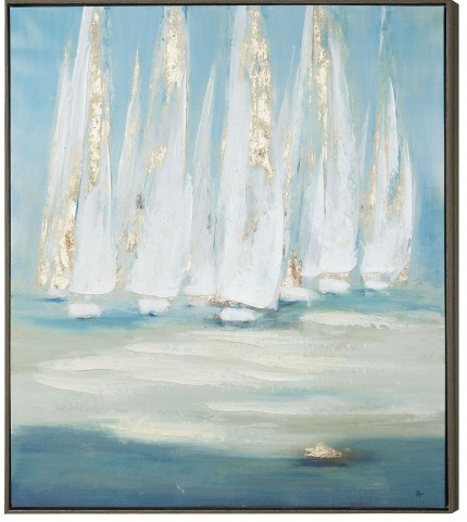 Sailing Wall Art With Frame