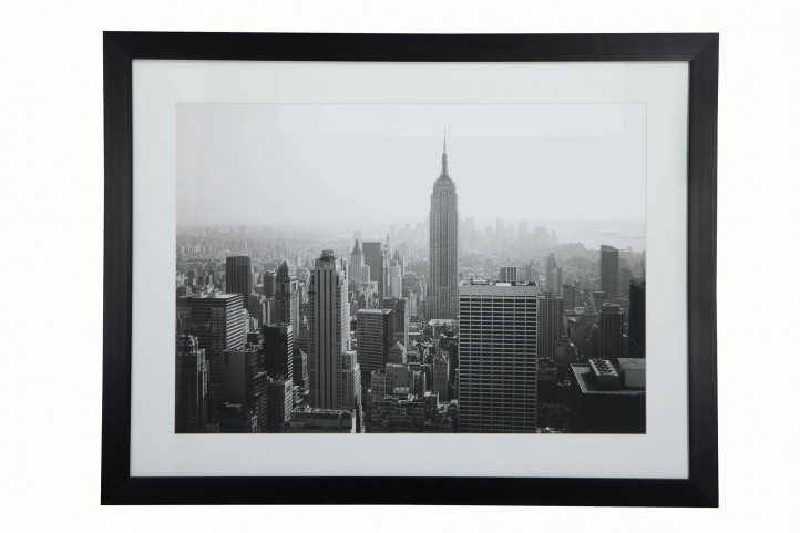 White and Black Frame Wall Art