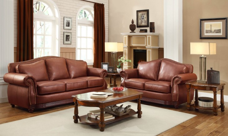 Midwood Show-Wood Living Room Set