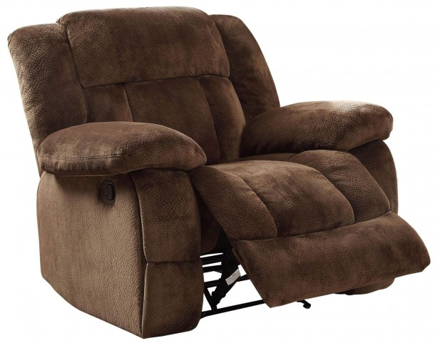 Laurelton Chocolate Glider Reclining Chair