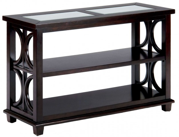 Panama Brown Sofa/Media Table