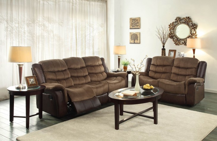 Bunnell Double Reclining Living Room Set
