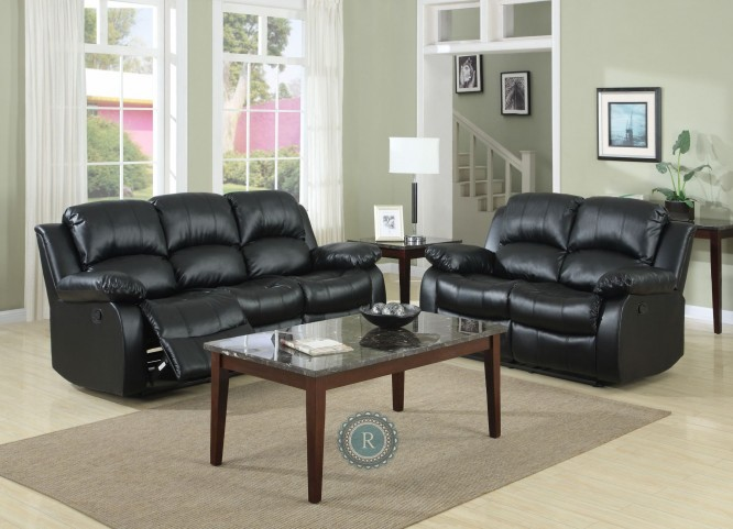 Cranley Black Reclining Living Room Set