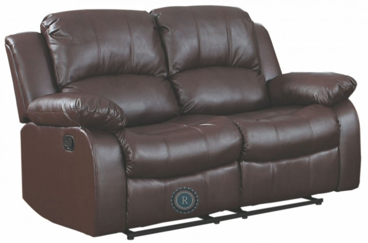 Cranley Brown Double Reclining Loveseat