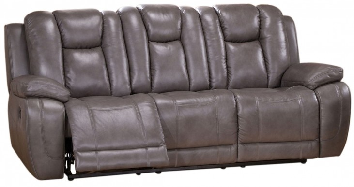 Austin Smoke Grey Reclining Sofa