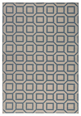 Gray and Beige Millennium Plus Large Rug