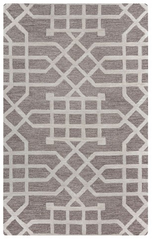 970184 Gray and White Hampton Small Rug