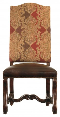 Costa Del Sol Dark Woodtone Perdonato Side Chair