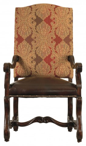 Costa Del Sol Dark Woodtone Perdonato Arm Chair