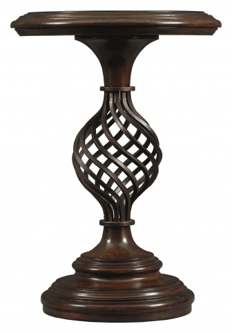 Costa Del Sol Dark Woodtone Gaiola Fortuna Table
